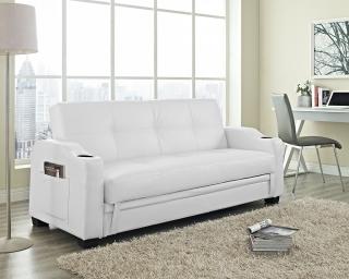 white sofa beds nebraska sofa bed white CZCPAAB