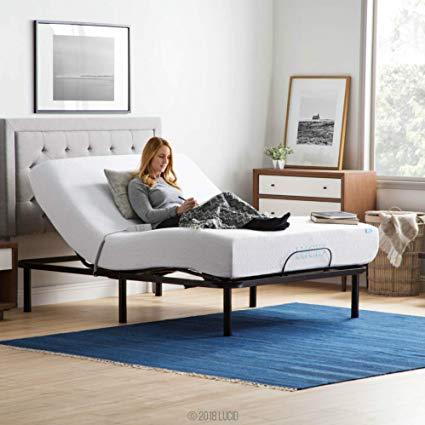 Amazon.com: LUCID L100 Adjustable Bed Base Steel Frame - 5 Minute