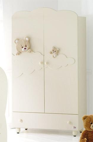 BABY EXPERT Wardrobe Abbracci by Trudi cream | Wardrobes | Bedroom
