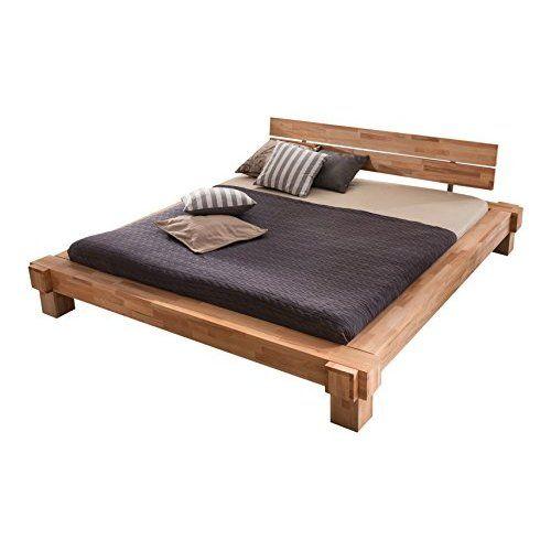 SAM® Holzbett Johann 180 x 200 cm mit Schubkästen Bett aus geölter