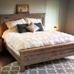 Bed frames made of alder