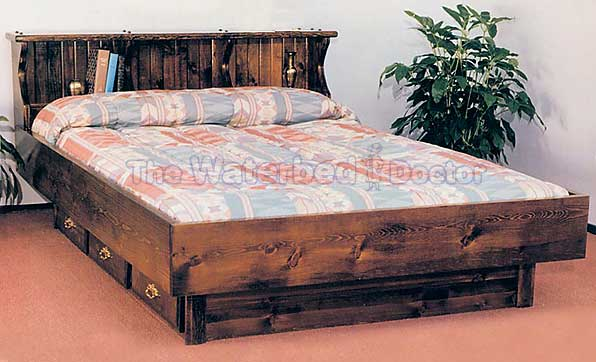 Pinewood Pine Waterbed Furniture
