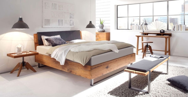 Hasena Beds, Swiss Made Modern Designer Hasena Bedroom Furniture