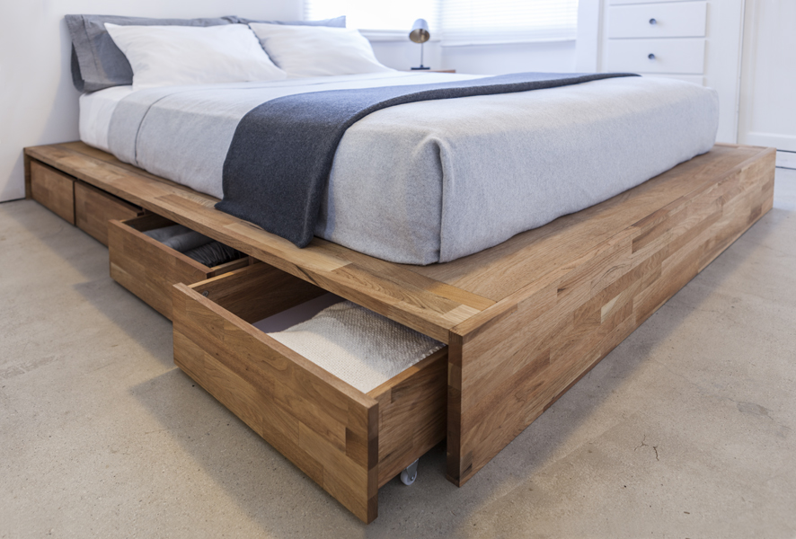 You should consider this option if you do not have enough room for a full  bed in the room and would also like some additional storage space.