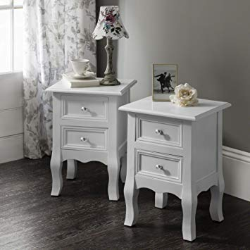 Laura James Sevenoaks AGTC008 Double Set of Two Bedside Tables