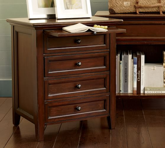 Hudson 4-Drawer Nightstand | Pottery Barn