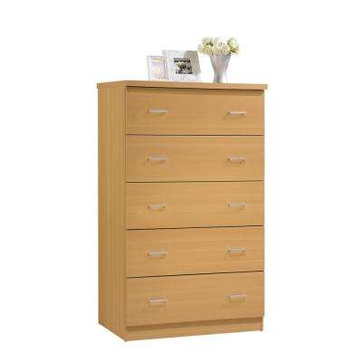 Beech - Dressers & Chests - Bedroom Furniture - The Home Depot
