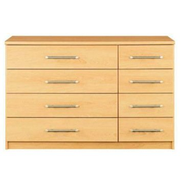 Vancouver Bedroom Furniture Chest of Drawers and Bed Side Tables