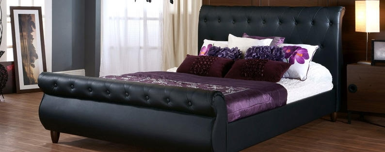 Stylish Black Beds in Gloss & Paint Finishes | Bedstar (Page 2)