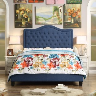 Navy Blue Metal Platform Beds | Wayfair