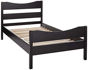 Amazon.com: Merax WF034134PAA Wood Platform Bed Frame with Headboard