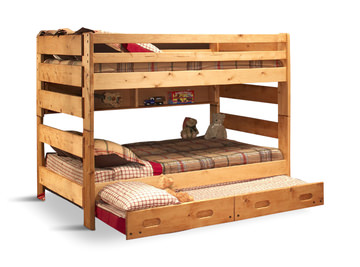 Big Sky F/ F Bunk Bed With Trundle | HOM Furniture