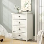 Chests of drawers in white for the bedroom