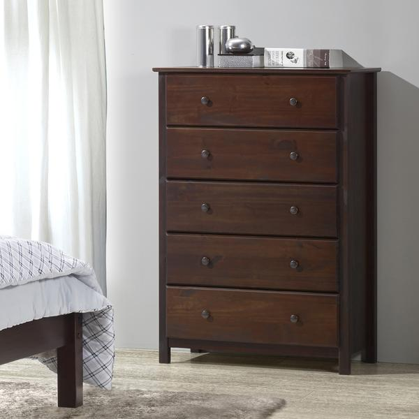 Shaker 5-Drawer Chest u2013 Grain Wood Furniture