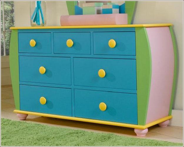 Children S Dressers Kids Storage Dresser Cheap Childrens Bedroom