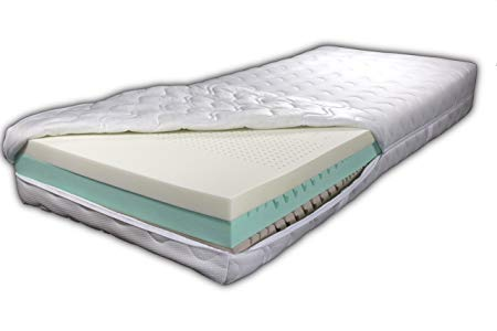 Visco Foam Mattress Cold Foam SUPER-NOVA-MODULAR MIT 3 Layers of