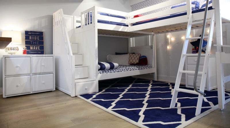 A Sleek & Sturdy Triple Bunk Bed - Meet the Trey!   Maxtrix Kids