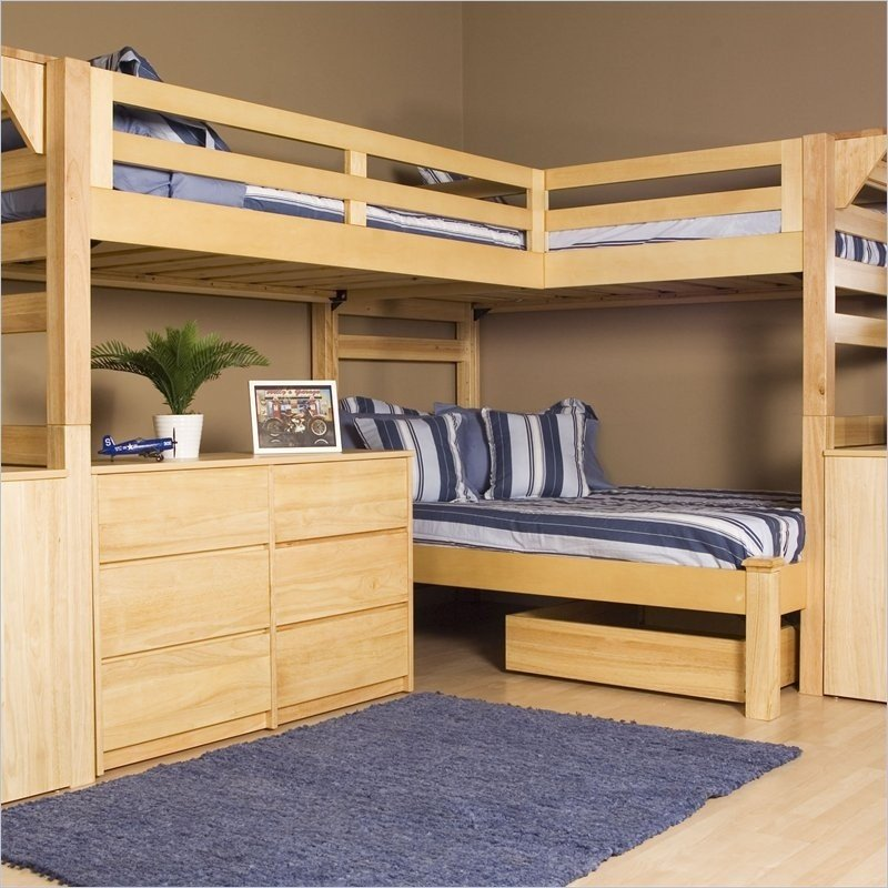 Triple Loft Bunk Bed - Ideas on Foter