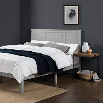 Amazon.com: Zinus Andrew Wood Country Style Platform Bed with