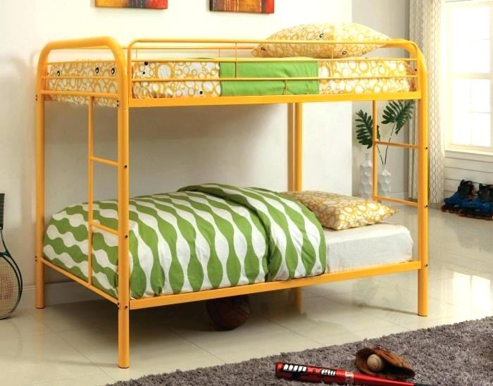 Triple Bunks 3 Colorful Bunk Beds Cream Colored Kids Bed Storage