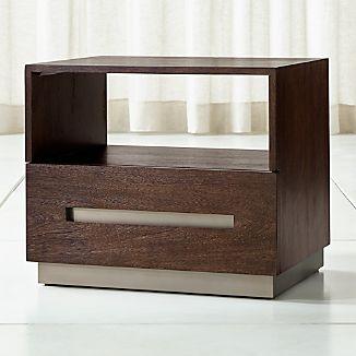 Modern Bedside Tables | Crate and Barrel