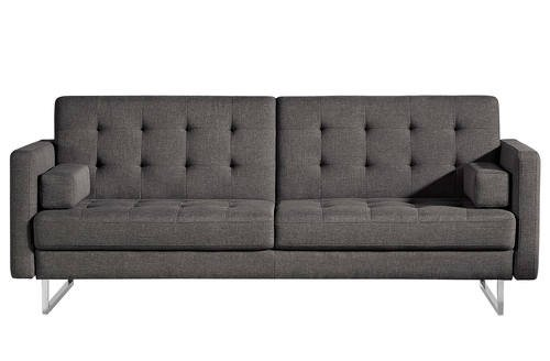 Chicago Gray Fabric Sofa Bed by ESF