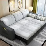 Fabric sofa beds