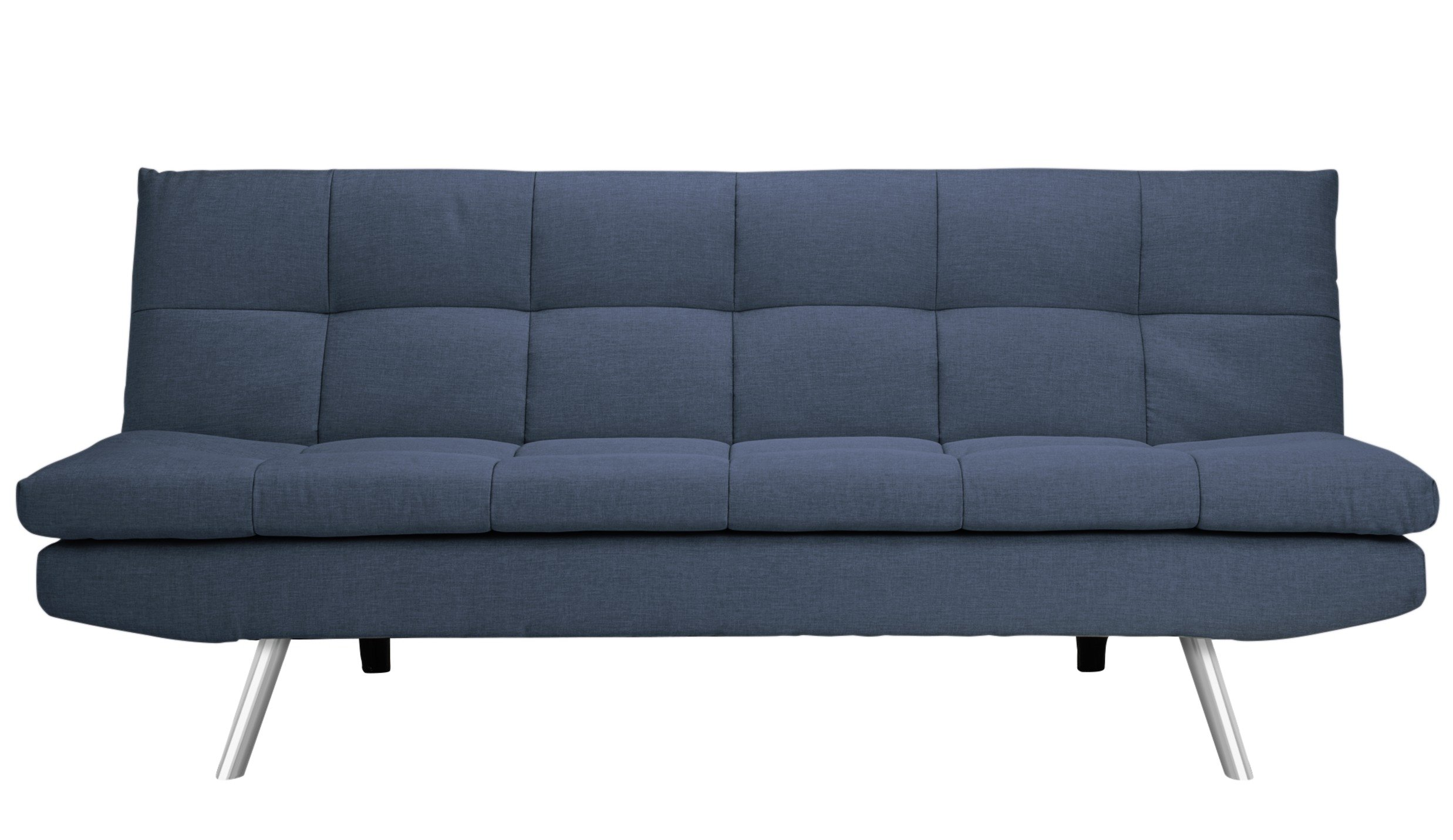 Buy Argos Home Nolan 3 Seater Fabric Sofa Bed - Denim Blue | Sofa