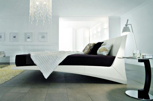 20 Beautiful Bedrooms With Floating Beds