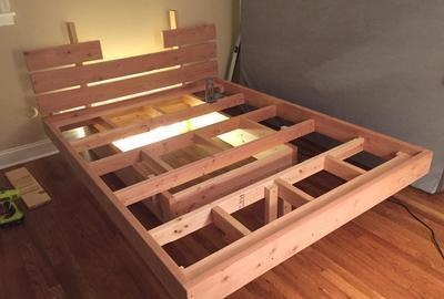 This Guy Made A DIY Floating Bed In 19 Simple Stepsu2026 Wait Till You