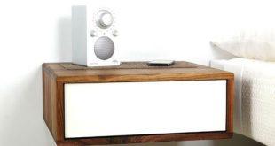 Floating Side Table by Urbancase | Home DIY | Bedroom, Table, Bedside