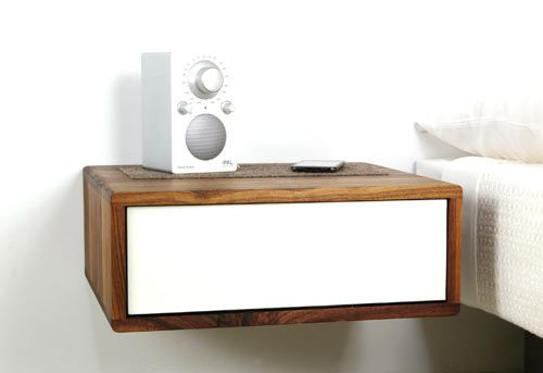 Floating Side Table by Urbancase | Home DIY | Bedroom, Table, Bedside
