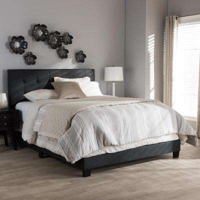 Gray - Beds & Headboards - Bedroom Furniture - The Home Depot