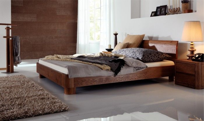 1105 Hasena Condo - Lisio Solid Oak Bed | I want this