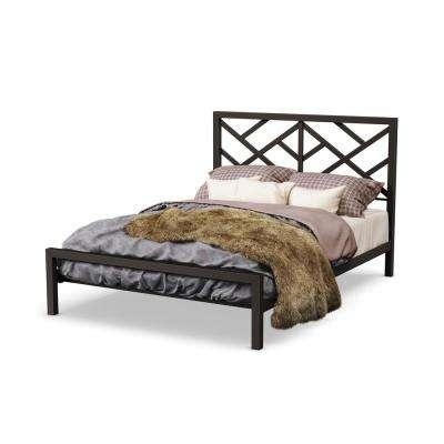 Classic - Brown - Wrought Iron - Beds & Headboards - Bedroom