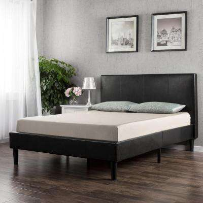 Faux Leather - Platform - Twin - Beds & Headboards - Bedroom