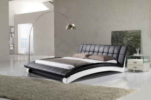 Leather Beds is good leather king size bed with drawers is good