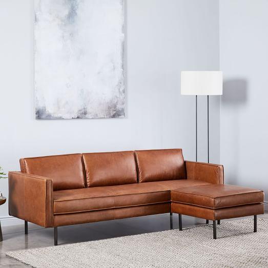 Axel Leather Sofa (89