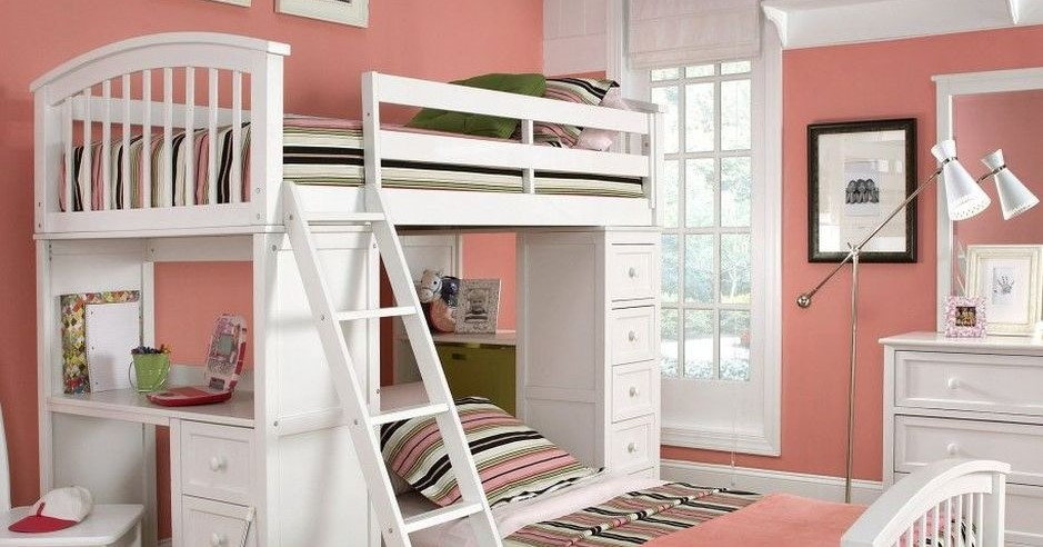 Cool Loft Bed Design Ideas for Small Room - AmzHouse.com