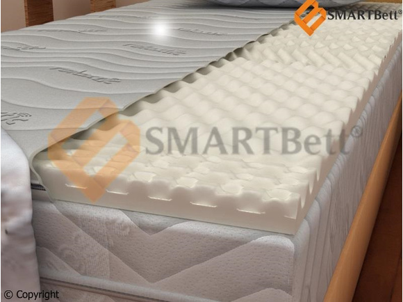 Mattress Topper comfort foam with nubs 100 x 200 cm, 59,95 u20ac