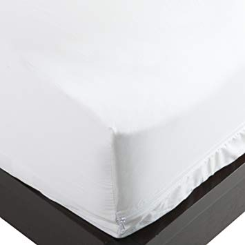 Allersoft 100-Percent Cotton Bed Bug, Dust Mite & Allergy Control Mattress  Protector,