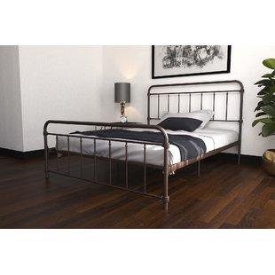 Full & Double Metal Beds You'll Love | Wayfair