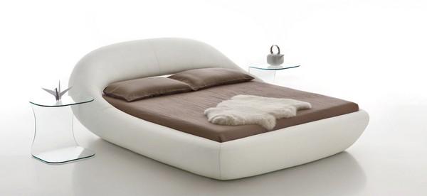 Angelo Tomaiuolo designs 'Sleepy' organic bed for Tonin CASA