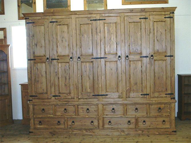 Huddersfield pine furniture - Wardrobes