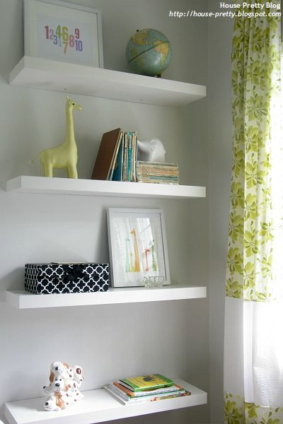 Floating Shelves | Beatrix Potter Nursery | Nursery, Baby Room