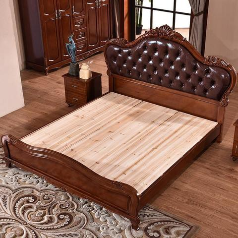 Beds | Bedroom Furniture Solid Wood Bed Leather Bed | Nofran