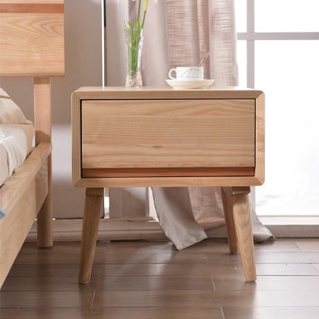 Nightstands Bedroom Furniture Home Furniture oak solid wood bedside