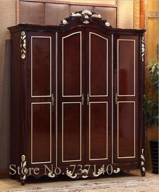 wardrobe bedroom furniture solid wood wardrobe wooden clothes
