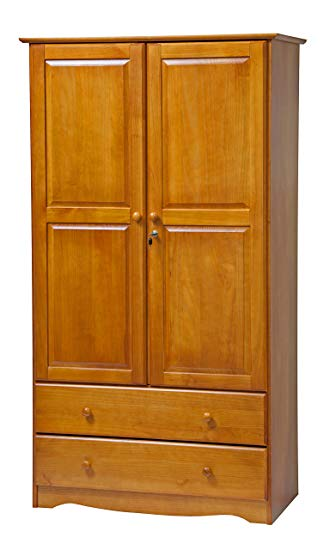 Amazon.com: Palace Imports 5924 Smart Solid Wood Wardrobe/Armoire