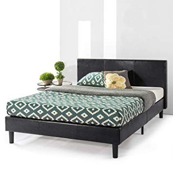 Amazon.com: Best Price Mattress Agra Upholstered Faux Leather with